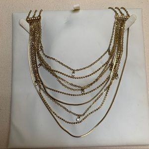 2/$30 Guess gold toned necklace